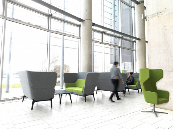 Why is it important to have that breakout area in the for Foyer area furniture