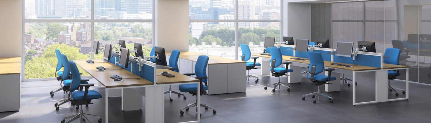 Office Bench Desks | Office Furniture | Office Layout | Office Design | Sussex | Surrey | Hampshire | London | Kent