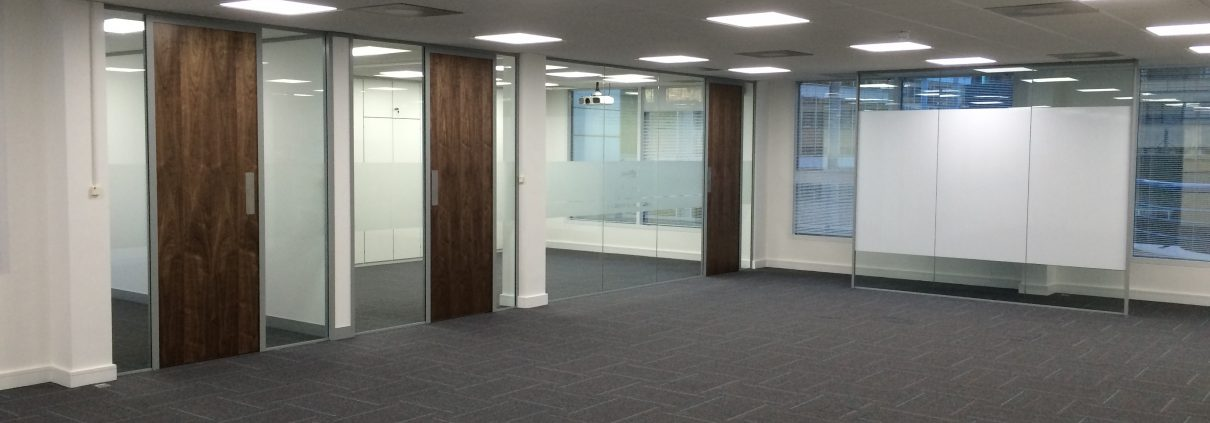 London's Air Ambulance | Glass Partitioning | Office Partitioning | Office Fit-out | Sussex | Surrey | London | Hampshire | Kent