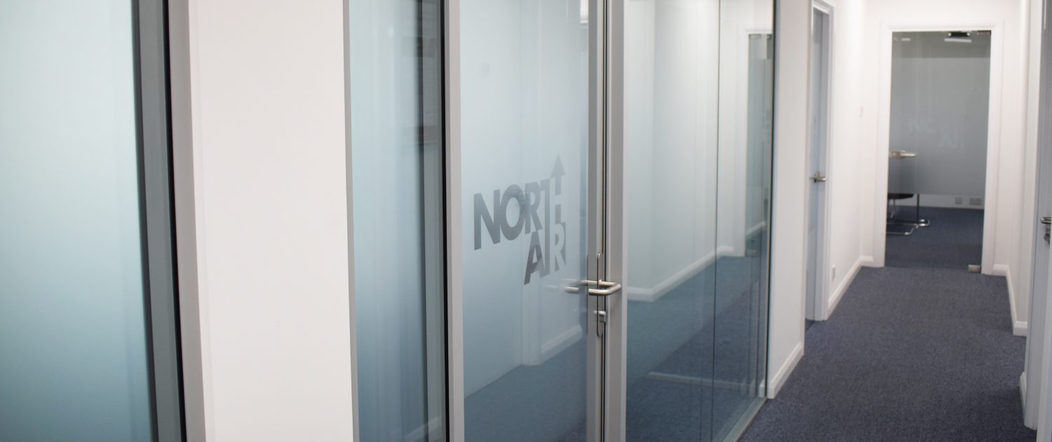 North Air | Glass Partitioning | Sussex | Surrey | Hampshire | London | Kent