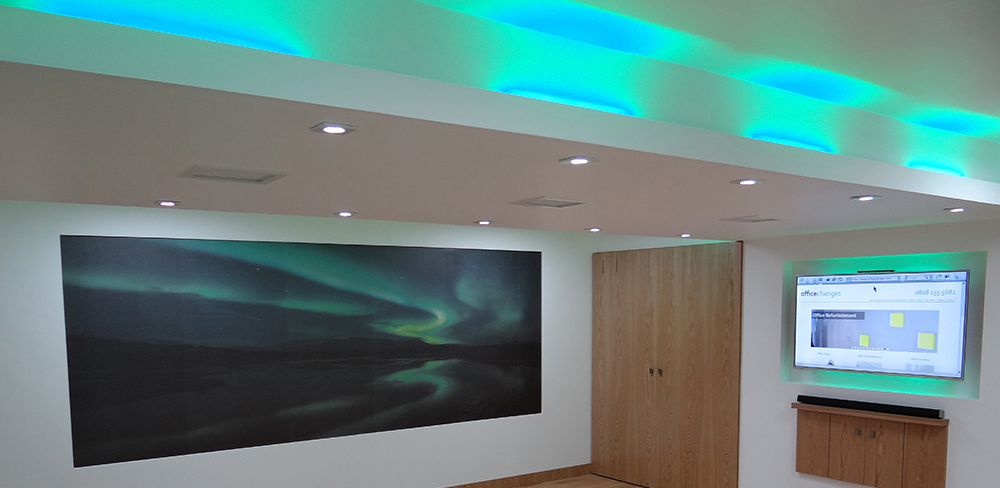 Residential Spot Lighting | LED Lighting | Residential Refurbishment | Sussex | Surrey | Hampshire | London | Kent