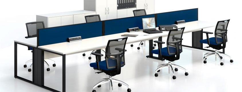 Bench Desks | Office Furniture | Office Design | Sussex | Surrey | Hampshire | London | Kent