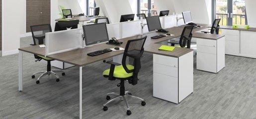 Office Bench Desking | Office Furniture | Bench Desks | Sussex | Surrey | Hampshire | London | Kent