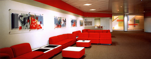 Red Breakout Area Design