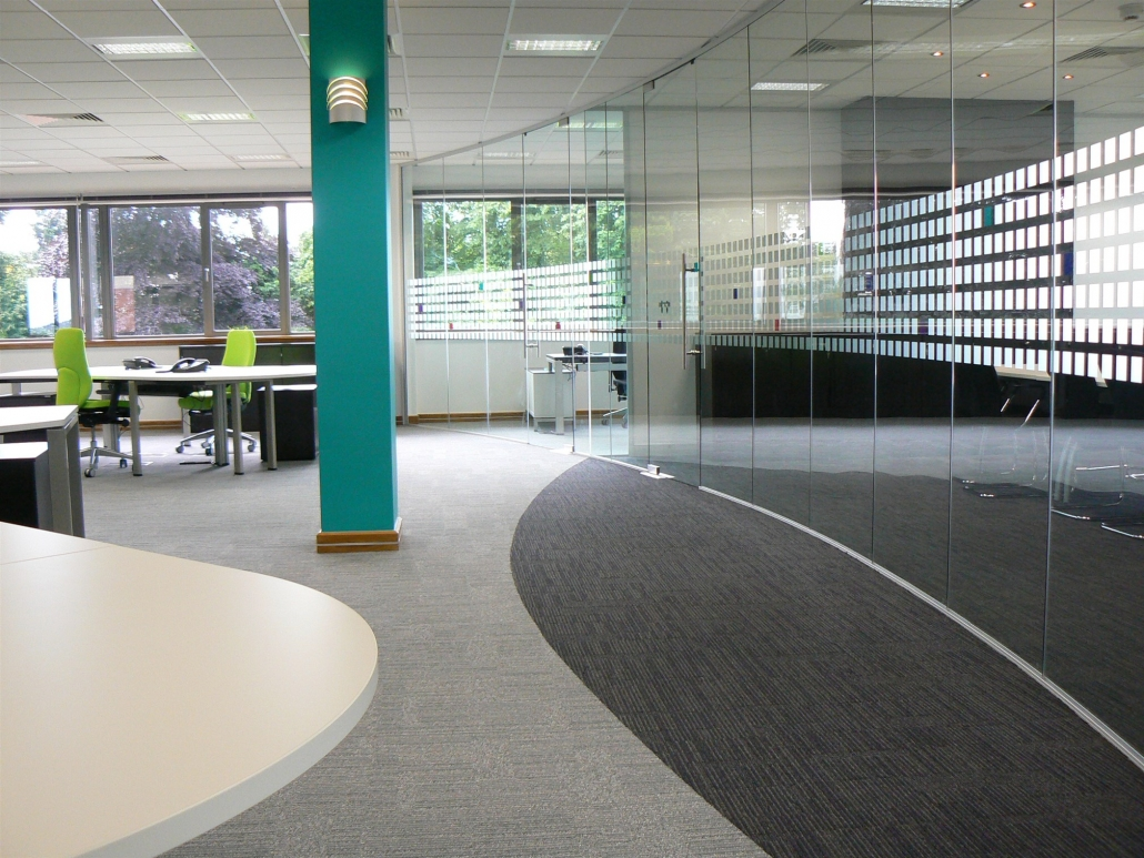 Glass Partitioning | Glass Manifestations | Partitioning | Sussex | Surrey | Hampshire | London | Kent