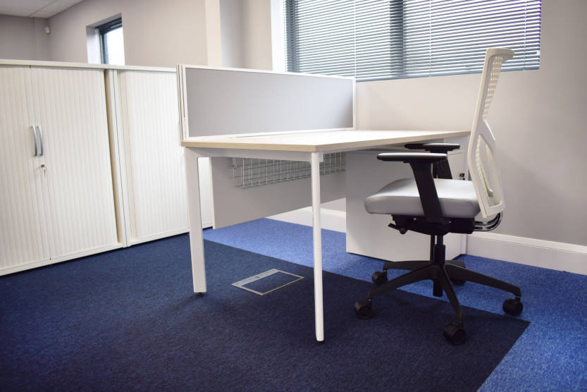 GP Plumbing & Heating Engineers - Office furniture installation.