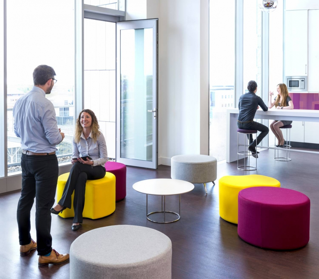 Promoting Movement | Office Design | Office Furniture | Collaboration Zones | Sussex | Surrey | Hampshire | London | Kent