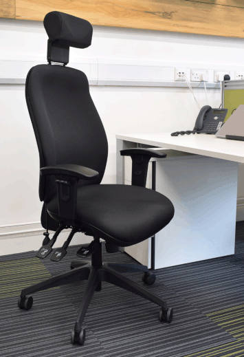 React Deluxe Chair - Highly Ergonomic Operator Chair